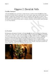 David de Valls | Spansk aflevering