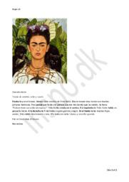 Frida Kahlo   Billedbeskrivelse afleverin   Spansk
