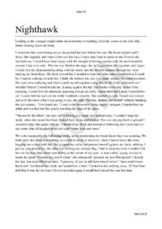 Nighthawk | Essay