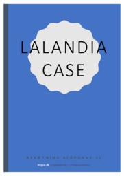 Lalandia Case Afsætning