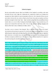 Sam   Analytical Essay   Kirsty Dunn