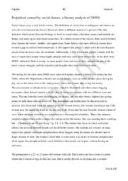 DHSS | Analyse | Doris Lessing