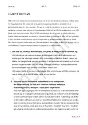 Case 7.2 Hilti A/S | Afsætning