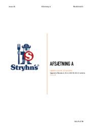 Stryhn's | Afsætning A | Højere Handelseksamen