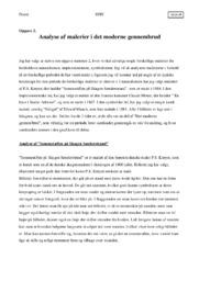 Malerier i det Moderne Gennembrud | Analyse
