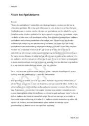 Nissen hos Spækhøkeren | Analyse | H.C Andersen