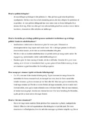 Hvad er politisk deltagelse? | Samfundsfag spørgsmål