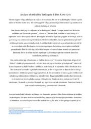 Analyse af artikel fra Berlingske & Den Korte Avis