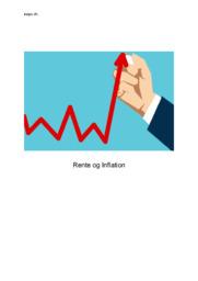 Rente og Inflation | IØ aflevering
