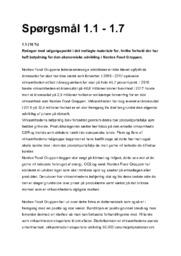 Nordex Food Gruppen |  Afsætning