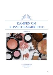 Kampen om kosmetikmarkedet | Afsætning