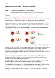 Bestemmelse af blodtyper | Biologi