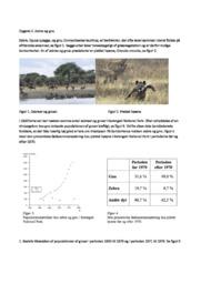 Zebra og gnu opgave | Biologi