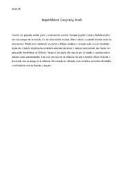 Imperfektum (langvarig datid)   Spansk aflevering