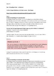 Ugyldige aftaler – Aftaleloven   Kap. 11   Erhvervsret