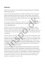 Drivhuset   Analyse & fortolkning