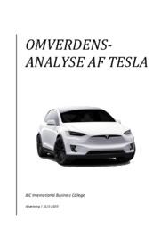 Omverdensanalyse af Tesla | Afsætning