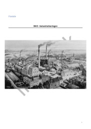 DHO – Industrialiseringen
