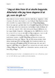 Rødby-Puttgarden   Analyse   Helle Helle