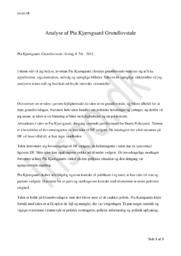 Analyse af Pia Kjærsgaard Grundlovstale