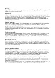 Forsøgende, fotosyntese og respiration | NV opgave