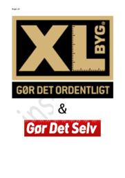 XL Byg | Afsætning opgave | EUX