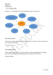 Produkt (B)   Kap. 15   Afsætning Noter