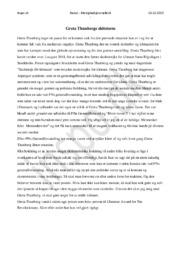 Greta Thunbergs Shitstorm | Menighedsjournalistik