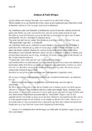 Analyse af Punk Afrique