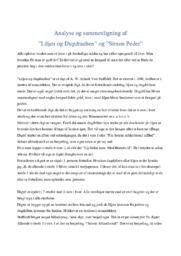 Liljen og Dugdraaben & Simon Peder | Analyse