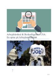 Arbejdsløshed & Beskæftigelse i USA | SRO