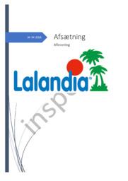 Afsætning | Lalandia