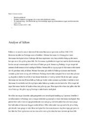 Analyse af falken