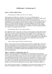 Skriftlig opgave – Streaming opg. 4-5 | Afsætning