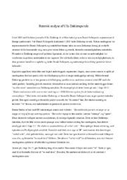 Retorisk analyse af Ulla Dahlerups tale