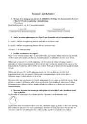 Osmose i mælkebøtter | Bioteknologi opgave
