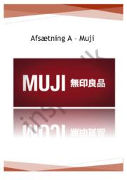 Muji – Virksomhedsanalyse – Afsætning A