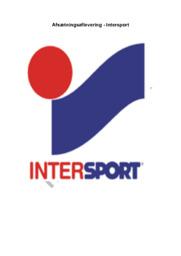 Virksomhedsanalyse af Intersport | Afsætning A