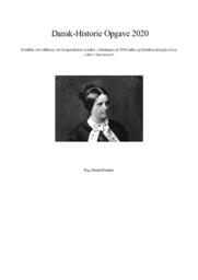 Borgerskabets kvinder i slutningen af 1800   DHO