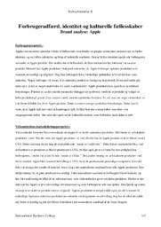 Apple | Brand Analyse | Kulturforståelse