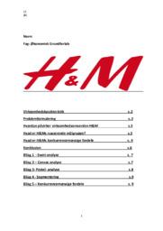 H&M | Økonomisk Grundforløb