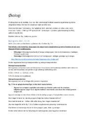 Biologi B noter | Over 40 sider