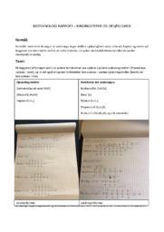 Bioteknologi rapport