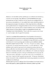 Det personlige ansvar i dag | Dansk stil