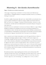 Den danske charterbranche | 12 i karakter