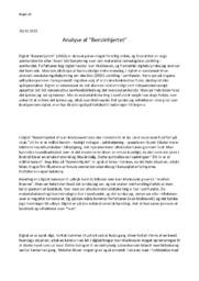 Benzinhjertet   Analyse   Ivan Malinovski   Opg 2