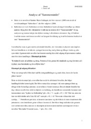 Analyse af Sammenstødet | 10 i karakter