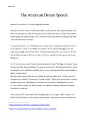 Dear fellow students at The Johns Hopkins University | Speech