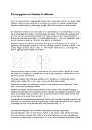 Emneopgave   Matematik   Linære funktionerocx
