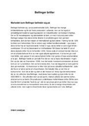 Bellinger briller | 10 i karakter